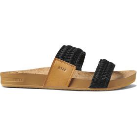 Reef Cushion Vista Thread Sandals Women, black